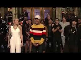 eminem skyler grey and chance the rapper thanksgiving snl 2017