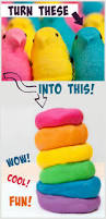 how to make play dough from peeps what a fun project my kids