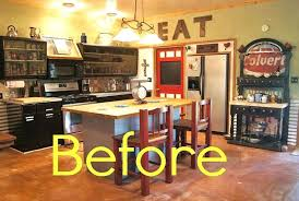 easy kitchen makeover ideas kitchen makeover ideas easy remodel lovely before and after rustic