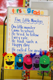Preschool Halloween Poems M Is For Monster Glyph Phonics Pinterest Monsters