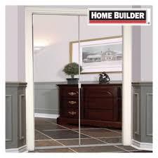 home hardware doors interior home hardware 24 x 80 frameless white mirror bifold door
