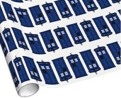 dr who wrapping paper doctor who tardis wrapping paper