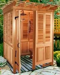 Portable Outdoor Shower Kit - 71 best outdoor cottage showers images on pinterest outdoor