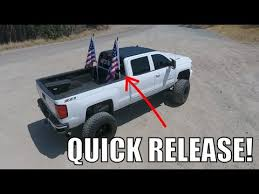 Flag Pole Mount For Truck Bed The Best Truck Flag Poles Period Youtube