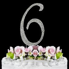anniversary cake 6th birthday cake topper 6th anniversary cake topper birthday
