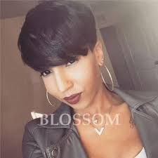how much is average price for hair cut and color cheap human real hair short pixie cut wigs african american short