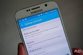 android perform a factory reset on galaxy s6