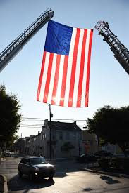 911 Flag Football Staten Island Firefighters And Others Honor Fallen Heroes In 9 11 Memorial Stair