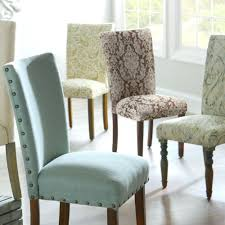 Leather Parsons Chairs Articles With Faux Leather Parsons Dining Room Chairs Tag