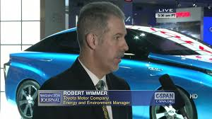 toyota automobile company wj hit auto show robert wimmer toyota motor company energy c