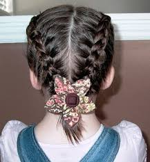 cute girl hairstyles how to french braid little girl s hairstyles growing out bangs double dutch or french