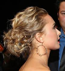 updo hairstyles for curly long hair easy fancy looking curly half