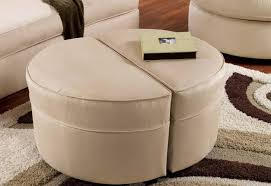 Fabric Coffee Table by Coffee Tables Delightful Round Brown Ottoman Coffee Table