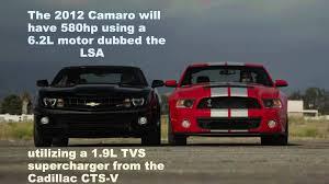 2012 vs 2013 camaro road test and drag race 2013 ford mustang gt500 vs 2012 camaro