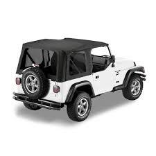 jeep wrangler 4 door maroon rampage replacement soft top with upper door skins u0026 tinted
