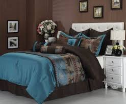 Best 10 Blue Comforter Sets by Awesome 90 Best Teal And Brown Bedding Images On Pinterest Bedroom