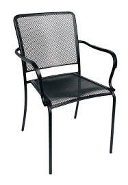 Stackable Outdoor Dining Chairs Appealing Steel Patio Chairs Shop Garden Treasures Davenport Matte