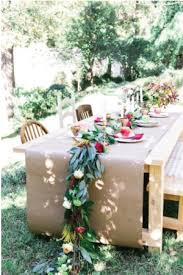 make your own table runner wedding stationery inspiration diy table runners
