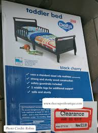 Crib Mattress Clearance Clearance Find Delta Toddler Bed 23 98 At Target Reg Price