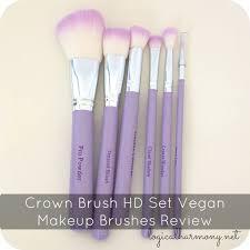 crown brush hd set vegan makeup brushes review free vegan via tashina bs