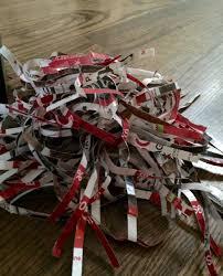 gift basket shredded paper diy gift basket filler shred how to it all