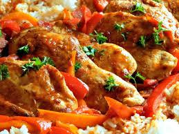 cuisine poulet basquaise poulet basquaise