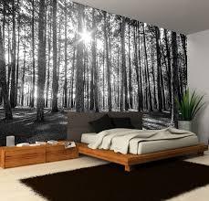 black white sunny spring forest decorating wallpaper photo wall black white sunny spring forest decorating wallpaper photo wall mural art 223