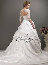 robe de mariã e avec dentelle robe de mariee manche longue wedding dress manches
