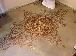 Painting A Bathroom Floor - 14 amazing painted floors diy for life