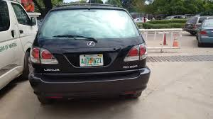 lexus rx300 for sale in lagos lagos cleared lovely 2001 lexus rx300 tokunbo 100 accident free