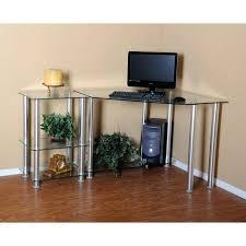 Glass Corner Computer Desks For Home Diy Corner Computer Desk Innovative Cool Diy Corner Computer Desk