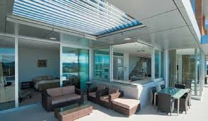 Roof For Patio Cool Idea For Patio Opening Roofs By Louvretec Digsdigs