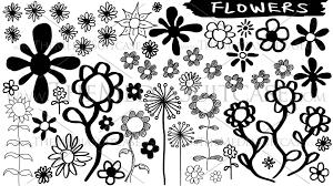 flower sketches hand drawn flower animation youtube