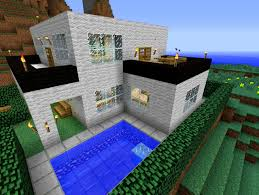 modern house in minecraft map u2013 modern house