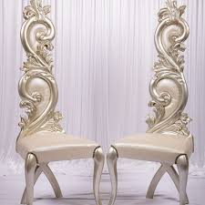 Throne Chair Blush Gold Royal Throne Chair Wedstyle Weddings Events Styling