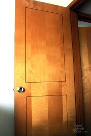 How To Add Molding To Cabinet Doors How To Add Molding Panels To A Flat Door Pretty Handy