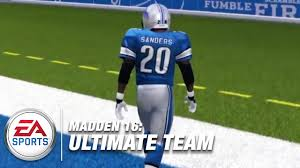what football teams are playing on thanksgiving barry sanders madden ultimate team thanksgiving madden nfl live