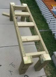 Simple Wood Bench Instructions by Best 25 Patio Bench Ideas On Pinterest Fire Pit Gazebo Pallet
