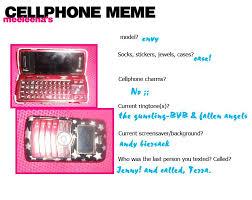 Cellphone Meme - cell phone meme by rakkaus666 on deviantart