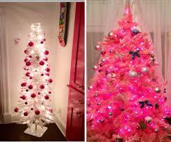 christmas extraordinary pinkhristmas tree light artificial trees