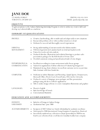 captivating resume fashion designer examples with resume for