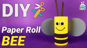 craft for kids toilet paper roll bee youtube