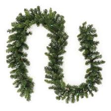 philips 9ft prelit artificial pine garland multicolored