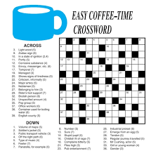printable easy crossword puzzles with solutions easy printable crosswords printable crossword puzzles 7 printable
