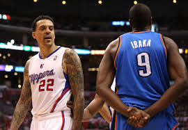 Matt Barnes New Contract No For Real Matt Barnes Would Like To Fight Serge Ibaka
