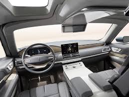 range rover concept interior lincoln u0027s yacht sized concept suv has a closet and staircase wired