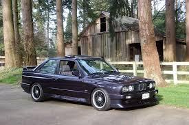 super rare 1988 bmw e30 m3 evolution ii rare cars for sale