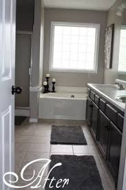 my bathroom redo paint is graceful grey by behr interior