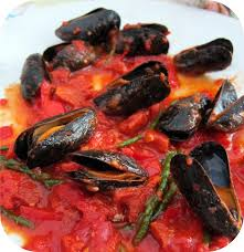 cuisiner la salicorne mon quatre heures bricoleur moules à la tomate chorizo et salicorne