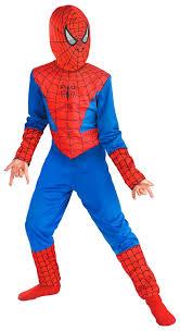 buy fancy dress spiderman costume for kids large 6 8 yrs blue
